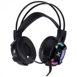 headset gamer enya audio 7.1 led rgb estatico usb, mic com software  gh400