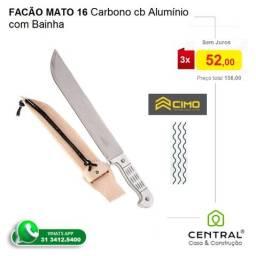 """Facão Cimo 16"""" Carbono cabo em Alumínio em BH"""