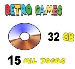 Título do anúncio: Multijogos Arcade Mais De 17.000 Jogos - 97 Sistemas 32 Gb