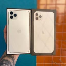 iPhone 11 Pro Max 64gb prata (Zero)
