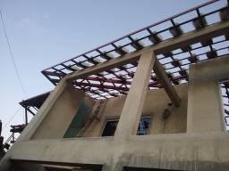 Trabalhamos com telhado colonial