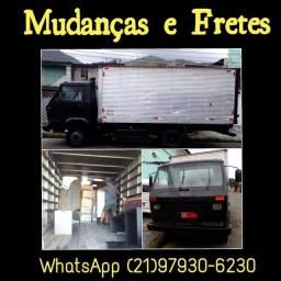Caminhão de Mudança e Fretes - Ajudantes e Montador