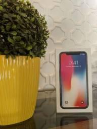 Iphone X 256GB Novinho Caixa e Acessórios Originais