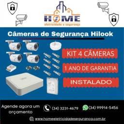 Kit completo Hilook 4 Câmeras *