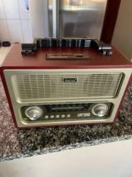 Rádio Retro USB + FM
