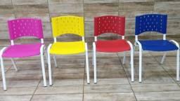Cadeiras Polipropileno Anatomicas Igreja Empresas Escola Cursos Apartamento Residencia