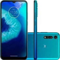 "Celular Moto G8 Power Lite Azul Claro 64gb 6.5"" Motorola"