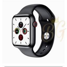 PROMOÇÃO- Smartwatch Iwo w46+Pulseira extra+Frete grátis