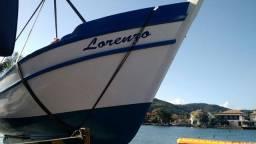 Barco a venda. 9 metros (todo em garapa)