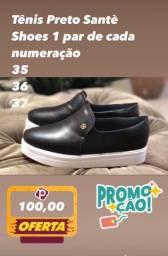Tênis Santè Shoes Preto Feminino