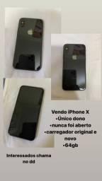 iPhone X ÚNICO DONO