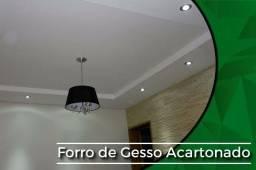FORRO DE GESSO ACARTONADO