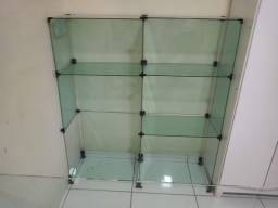 Mostruário de vidro