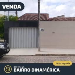 Vende-se Casa de 03 quartos no Dinamérica