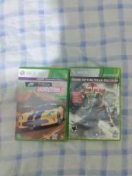 Jogos de Xbox 360 originais.