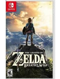 Jogo The Legend Of Zelda Breath Of The Wild. Nintendo Switch - Mídia Física