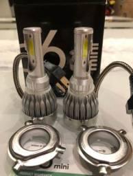 Lâmpadas de LED H7 para carro .