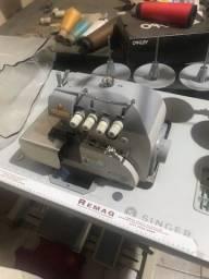 Máquina industrial de overloque 5 fios