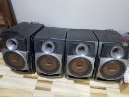 Som da Sony, 4 caixas