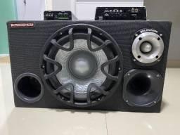 Kit Caixa Trio com 2 Modulos Taramps HD800 e TS400X4