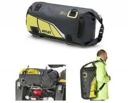 Bolsa Givi EA114BY impermeável 30 litros preto/Amarelo