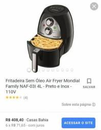 Fritadeira Air Fryer Mondial