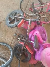 Bicicleta criança e cadeirinha