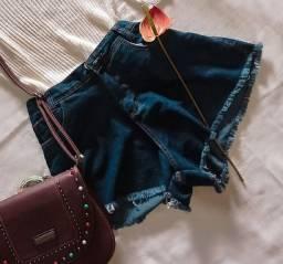 Short Jeans feminino Godê