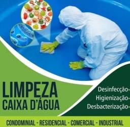 Limpeza e higienização de caixa d?água