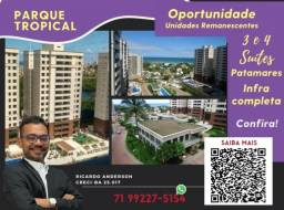 Título do anúncio: Parque Tropical , 2 vagas , Varanda Gourmet , 113m² , Patamares , 3 suítes