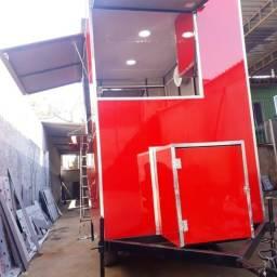 Trailer  food truck  9.999  12 x no cartão