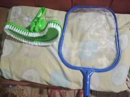 Escova e rede