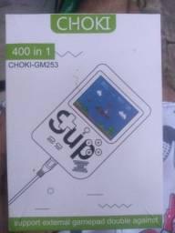 CHOKI/videogame portátil com 400 jogos