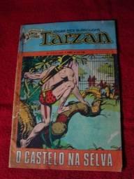 Gibi Tarzan N. 8 - 4a Série - Setembro de 1974 - Ed. Ebal - O Castelo na Selva