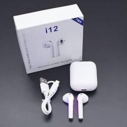 Fone Sem Fio Bluetooth i12 Tws