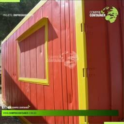 Container para fins comerciais 15m²