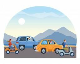 Aulas de direção para habilitados (carro ou moto)