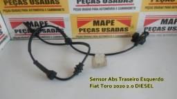 Sensor Abs Traseiro Esquerdo Fiat Toro 2020 2.0