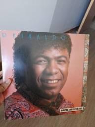 LP Reinaldo - Papel Assinado *RARO*