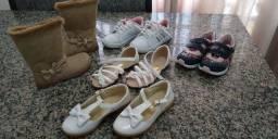 Vendo 5 pares de calçados