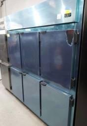 <]<] Geladeira industrial 6 portas pronta entrega