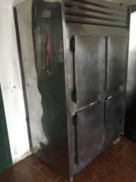 Refrigerador inox industrial
