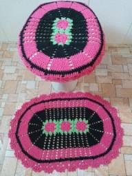 Crochê para banheiro Dia das Mães