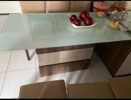 Urgente mesa 06 cadeiras
