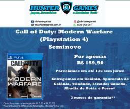 [Seminovo] Call of Duty Modern Warfare Playstation 4 (PS4) 12x Sem Juros 100% Português
