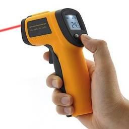 Termômetro Digital Laser e Infravermelho GM-300 - Realengo