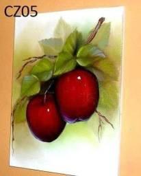 Quadros pintado a mão 25 x 25 cm