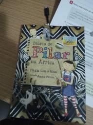Livro diário de Pilar na África