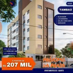 Apartamento para Venda em João Pessoa, Tambaú, 1 dormitório, 1 banheiro, 1 vaga