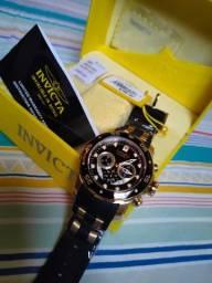Relógio invicta 6981 scuba pro Diver Banhado a ouro 18 k